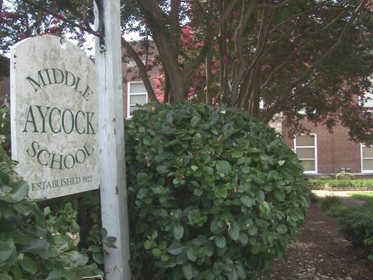 Aycock Middle School should change their name while also remembering North Carolina history of supremacy