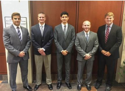 Students presented during the Federal Reserve Challenge this past Friday Oct. 28.