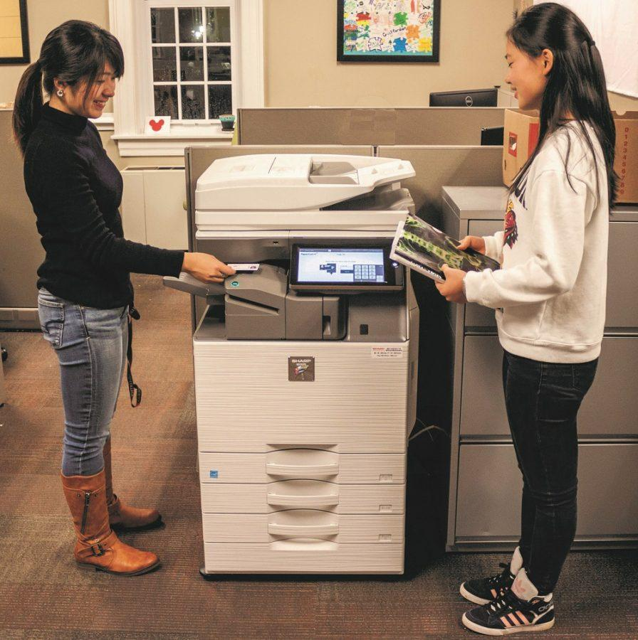 New Sharp printers appear across campus