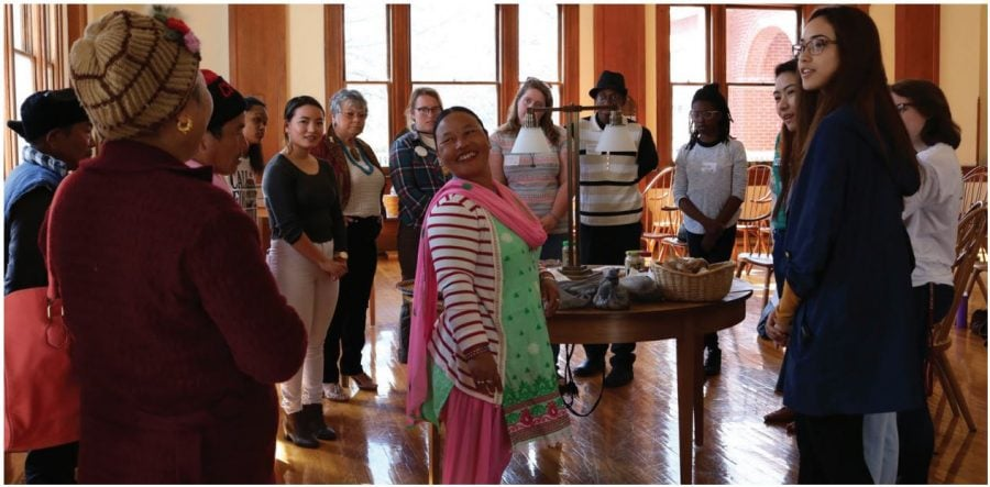 +Junior+Mamta+Gurung+and+members+of+the+Bhutanese+community+share+how+they+are+preserving+their+culture%0Athrough+food.+This+was+one+of+the+many+workshops+people+could+attend+and+learn+about+how+they+as+individuals+could%0Abecome+more+aware+of+food+justice+and+food+insecurities.+