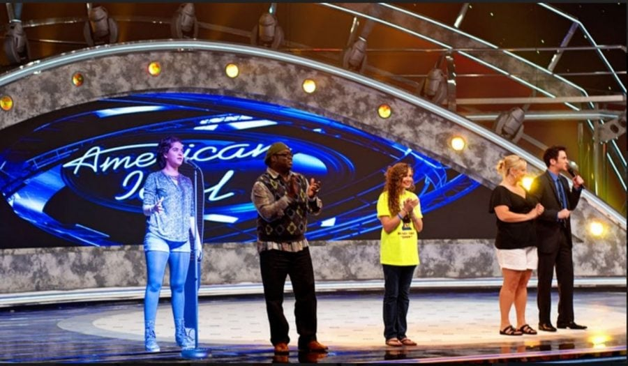 Addy Allred '16 performs in the newest American Idol season this past Monday, March 28, 2017, in Los Angeles, California. Allred's mixtape is expected to drop the summer of 2020.