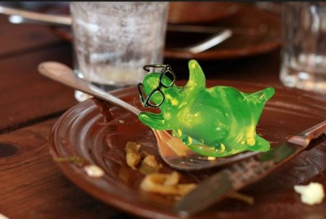 The newest addition to the cafeteria dessert menu is Jell-O. Students should not worry about moving gelatinous substances.