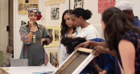 Artist Saba Taj talks activism