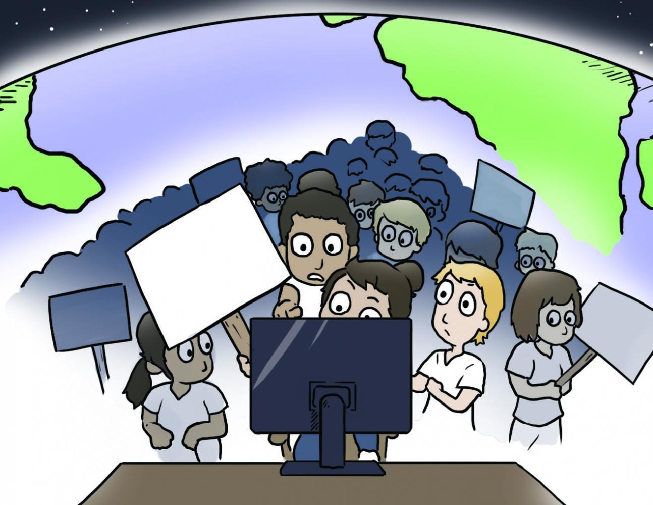 Cartoon by Christopher Perez