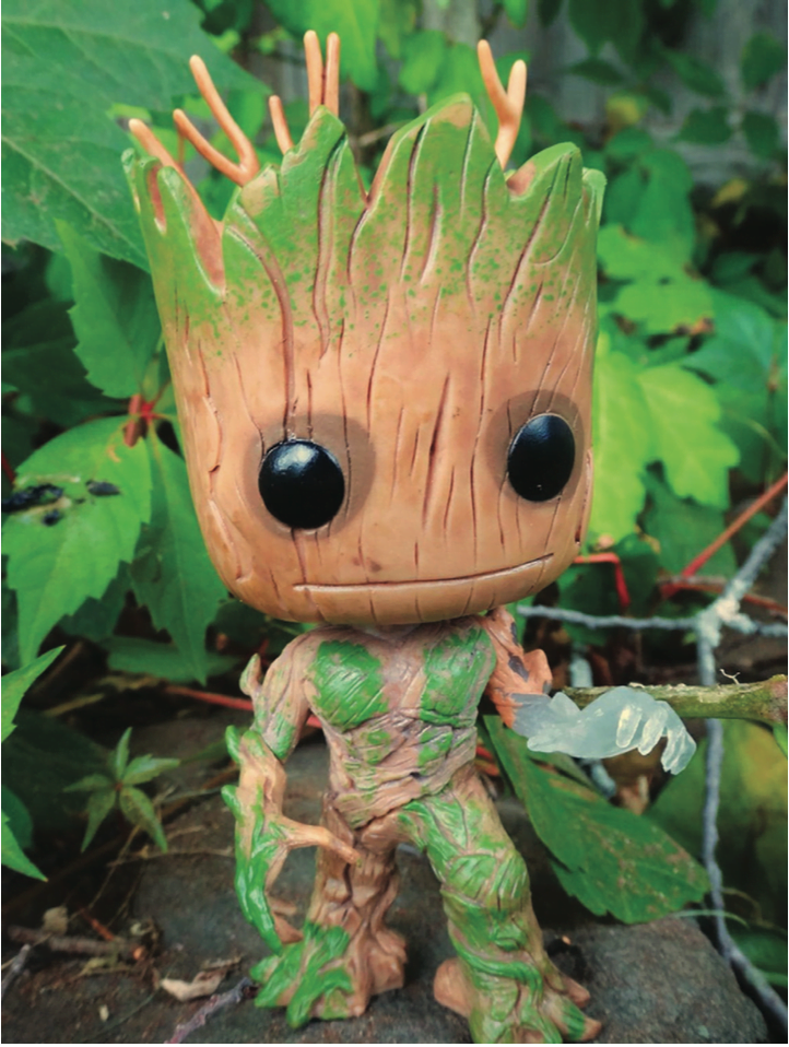 Groot, the hero of Guardians of the Galaxy