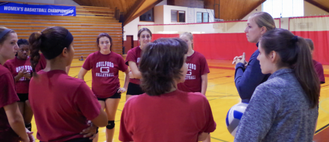 Women's volleyball team gets ready to compete for the ODAC championship