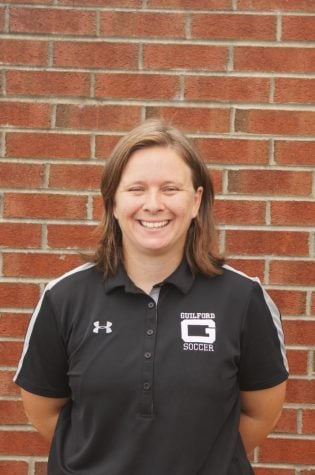 Guilford College Women's Soccer Head Coach Stephanie Webb.//Photo Courtesy Guilford Athletics/