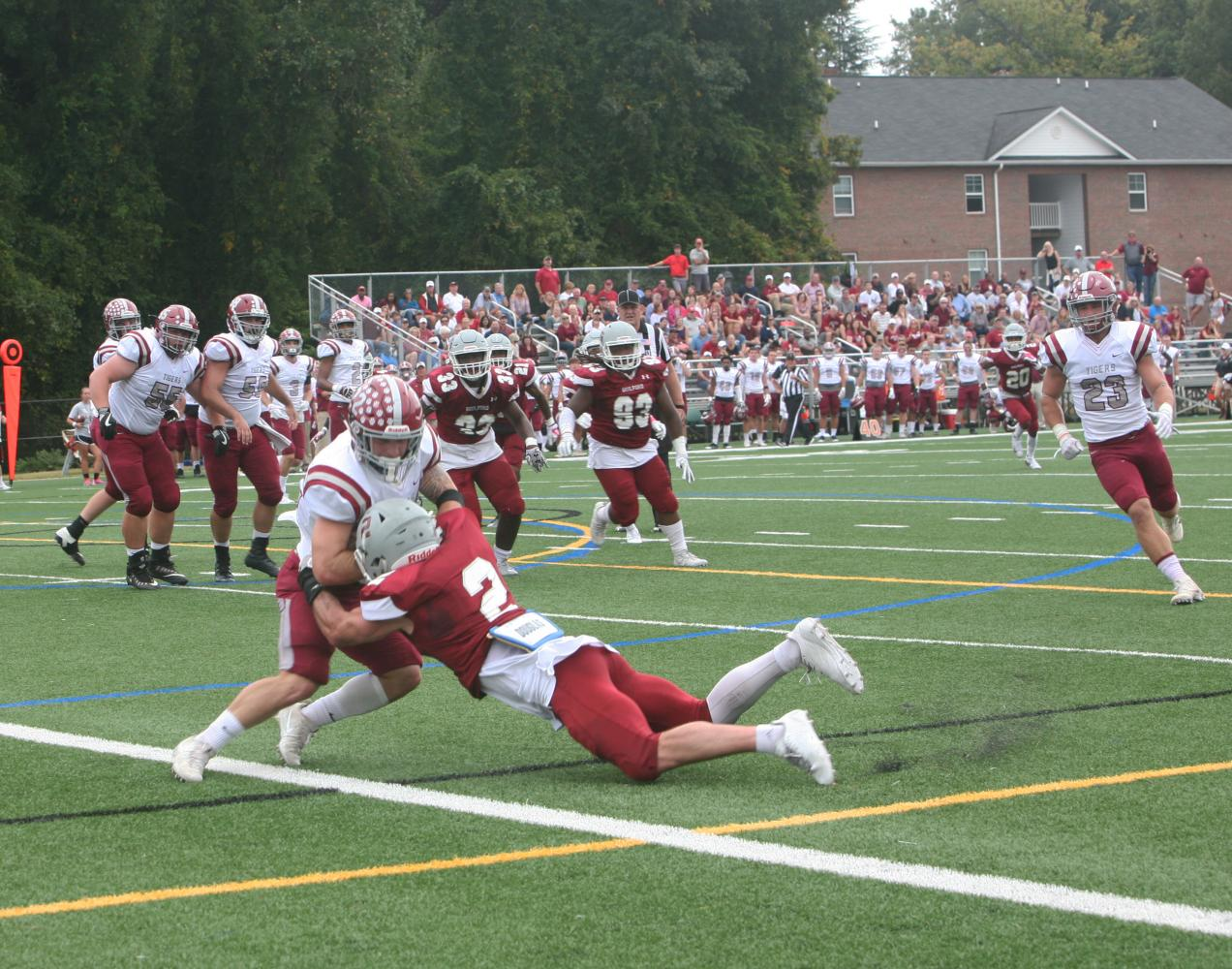 Guilford College Football falls to Hampden-Sydney College ...