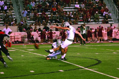 Guilford's kicker Kiser shares experience