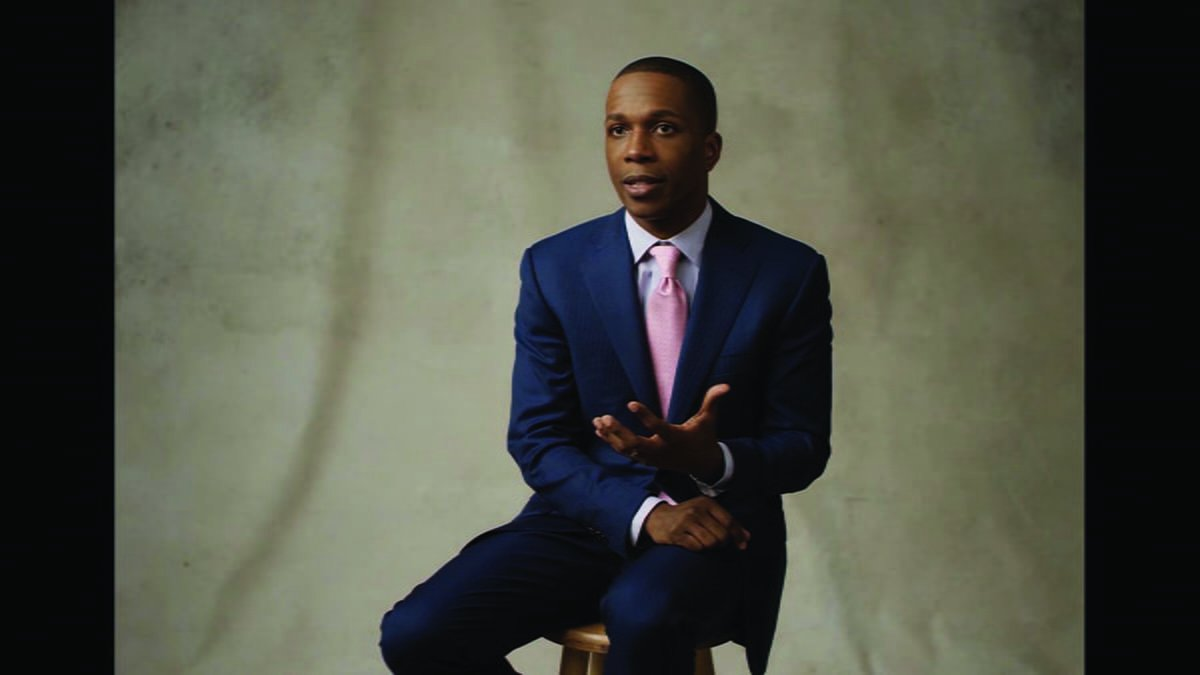 Leslie Odom Jr. played Aaron Burr in the hit musical Hamilton. // Photo courtesy of Vimeo