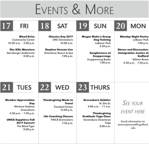 Guilford Community Calendar