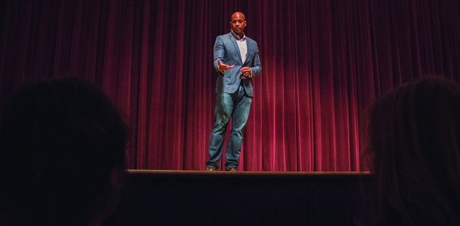 Wes Moore speech to Guilford College first-years