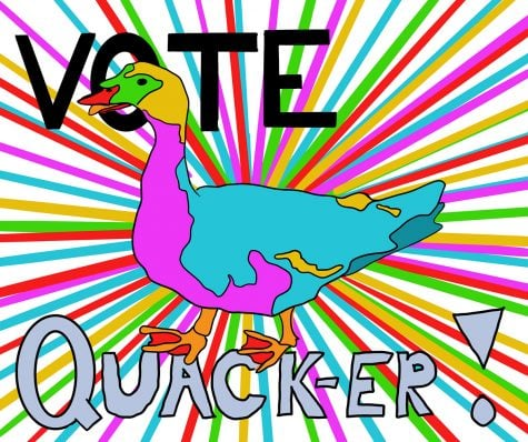 Goof: Duck should be our student body president