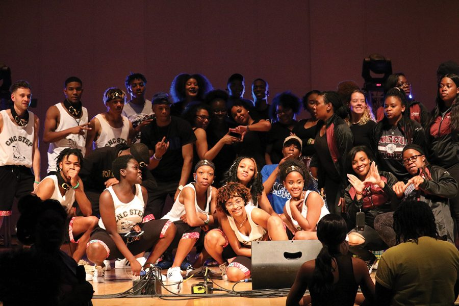 For The Culture: Step Show Guilford College Step team