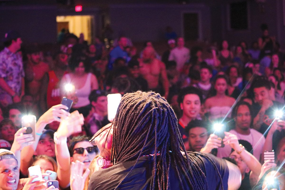 Waka Flocka Flame serves as the headliner for this year's Serendipity concert.