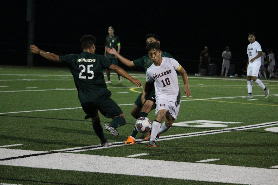 Guilford College Men's Soccer Ricky Aguilar