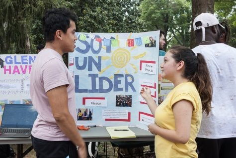 Volunteer Fair connects students to community