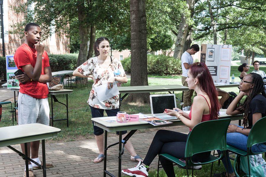Guilford College Volunteer Fair