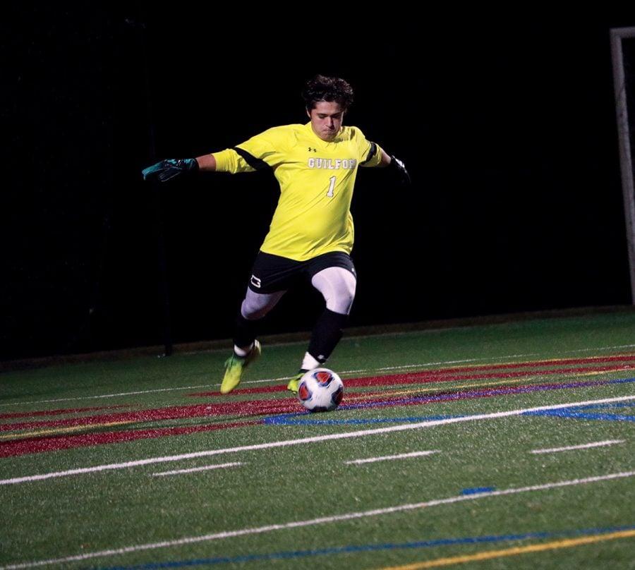 Guilford College Mens Soccer Zach Van Kampen