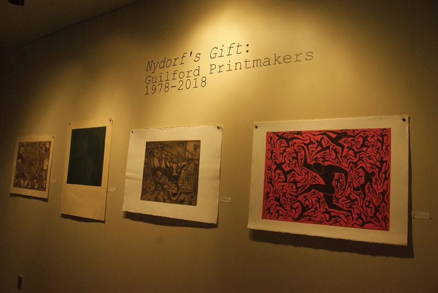 Roy Nydorf Hege Library Art Exhibit