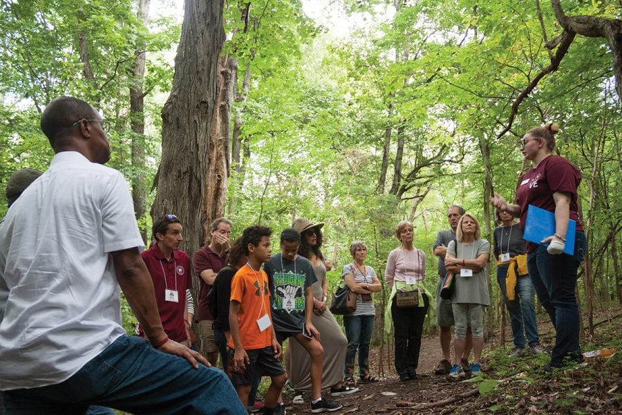 Guilford College Underground Railroad Tour