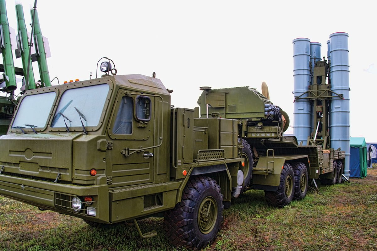 The S-300 is a series of Russian long range surface-to-air missile systems produced by NPO Almaz. // Photo courtesy of Andrey Korchagin