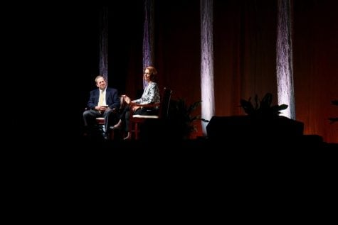 Julia Gillard talks experiences as a woman in politics at Bryan Series