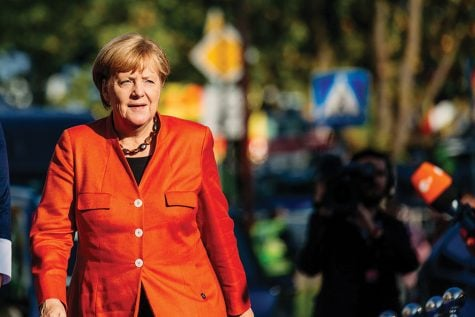 Germany's Merkel plans to steps down