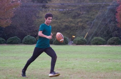 Early College students play in Turkey Bowl