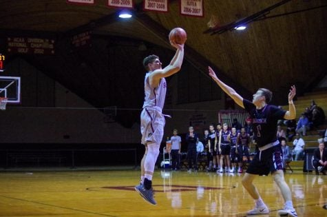 Men's basketball moves up in ODAC