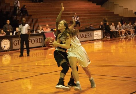 Basketball cruising through ODAC play