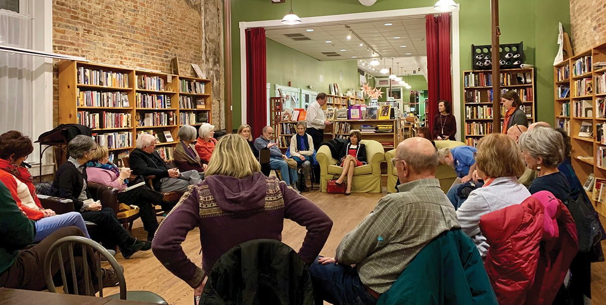 "On Jan. 17 Scuppernong Books hosted a discussion of ""Mountains Beyond Mountains: The Quest of Dr. Paul Farmer, a Man who would Cure the World"" by Tracy Kidder."