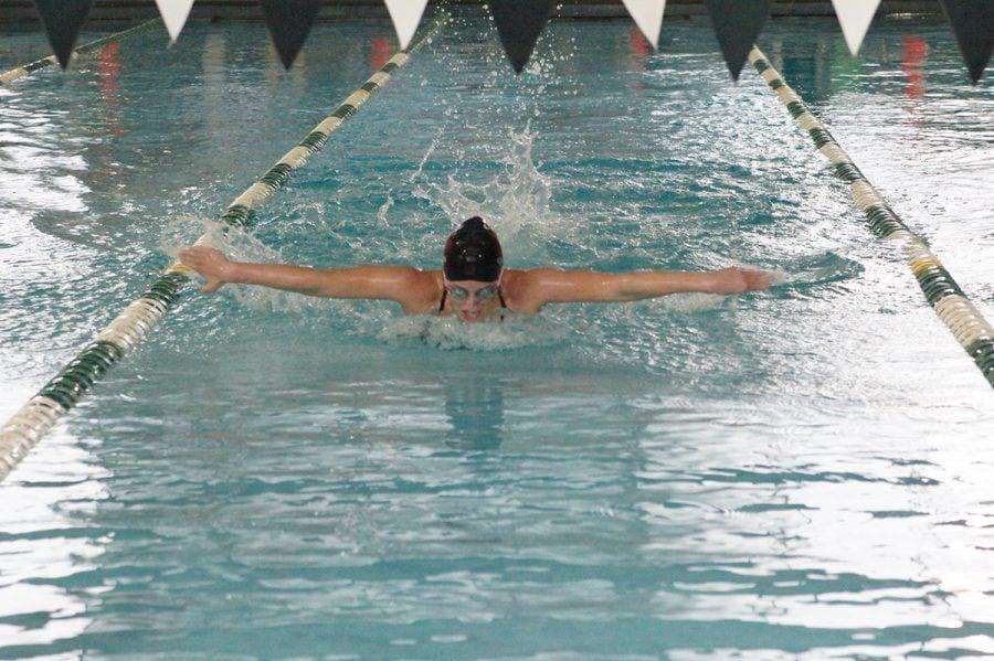 Guilford+College+women%27s+swimming+Carolyn+O%27Halloran