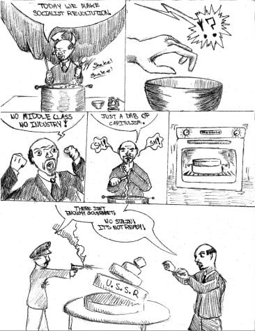 USSR Capitalism Cartoon
