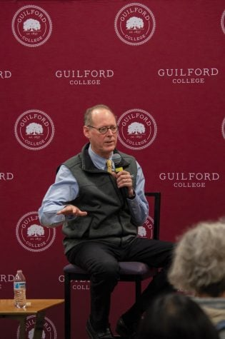 Dr. Paul Farmer speaks as part of Guilford College's Bryan Series