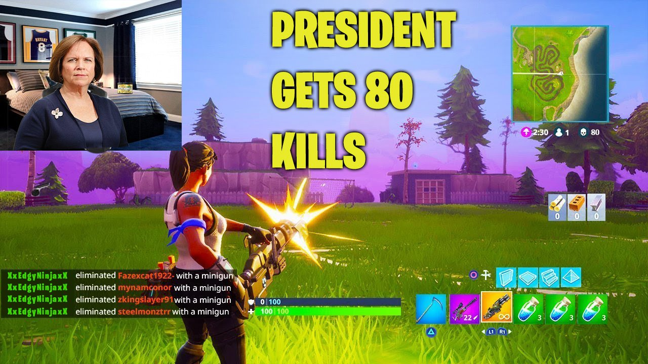 Jane, the master at Fortnite, once defeated 80 players in one game of Fortnite.//Photo done by: Andrew Walker