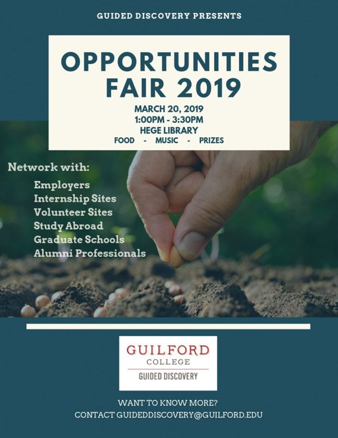 Opportunities Far 2019 Guided Discovery Guilford College
