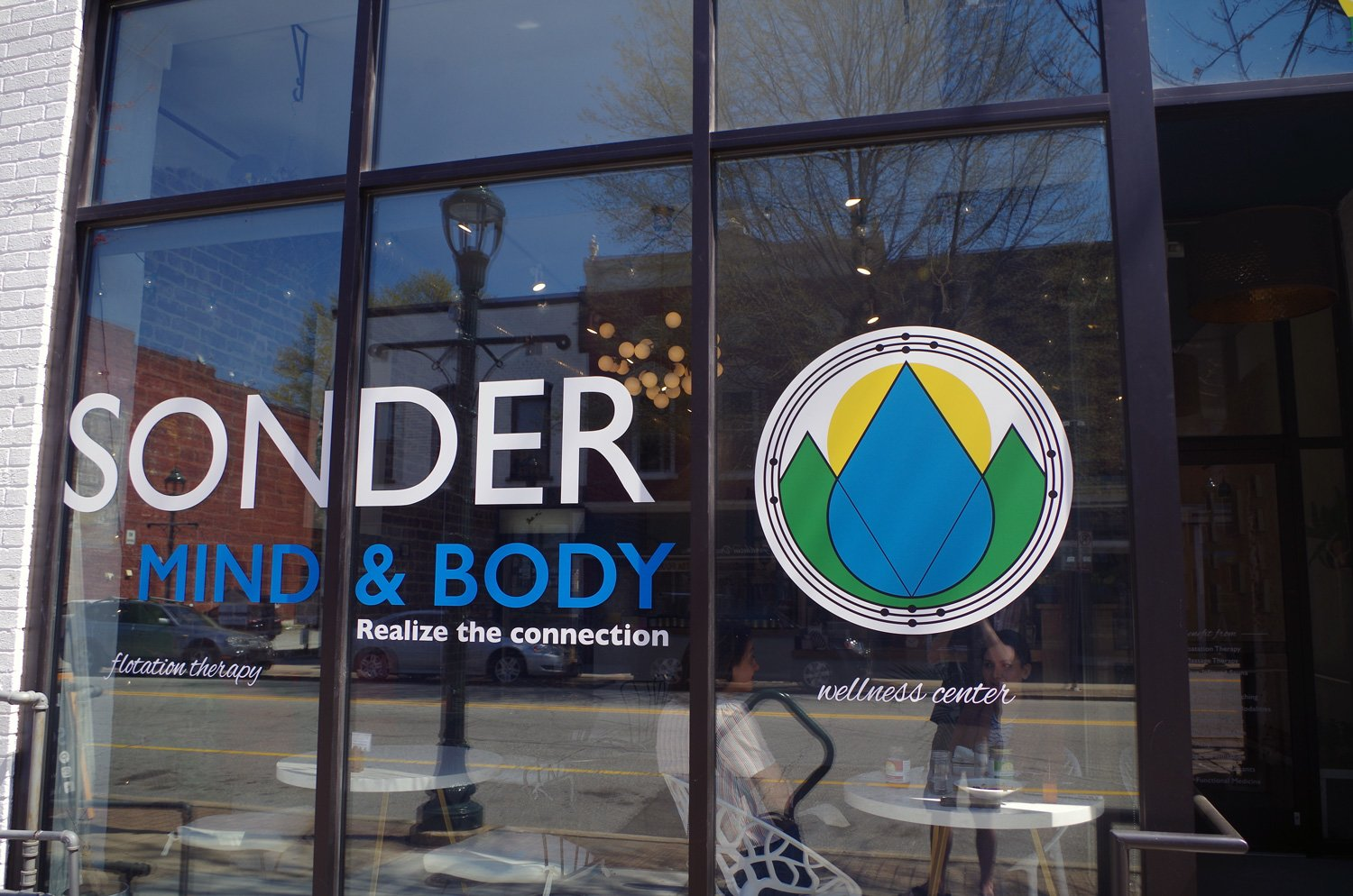 In addition to floatation therapy, Sonder Mind & Body in downtown Greensboro offers massage therapy, yoga and meditation sessions.