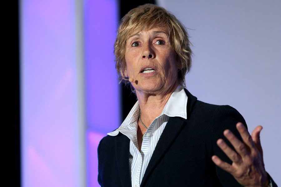 Diana Nyad closes 2018-2019 Guilford College Bryan Series season