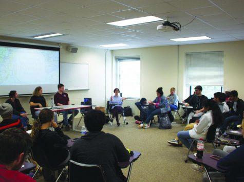 Spanish majors speak at study abroad panel