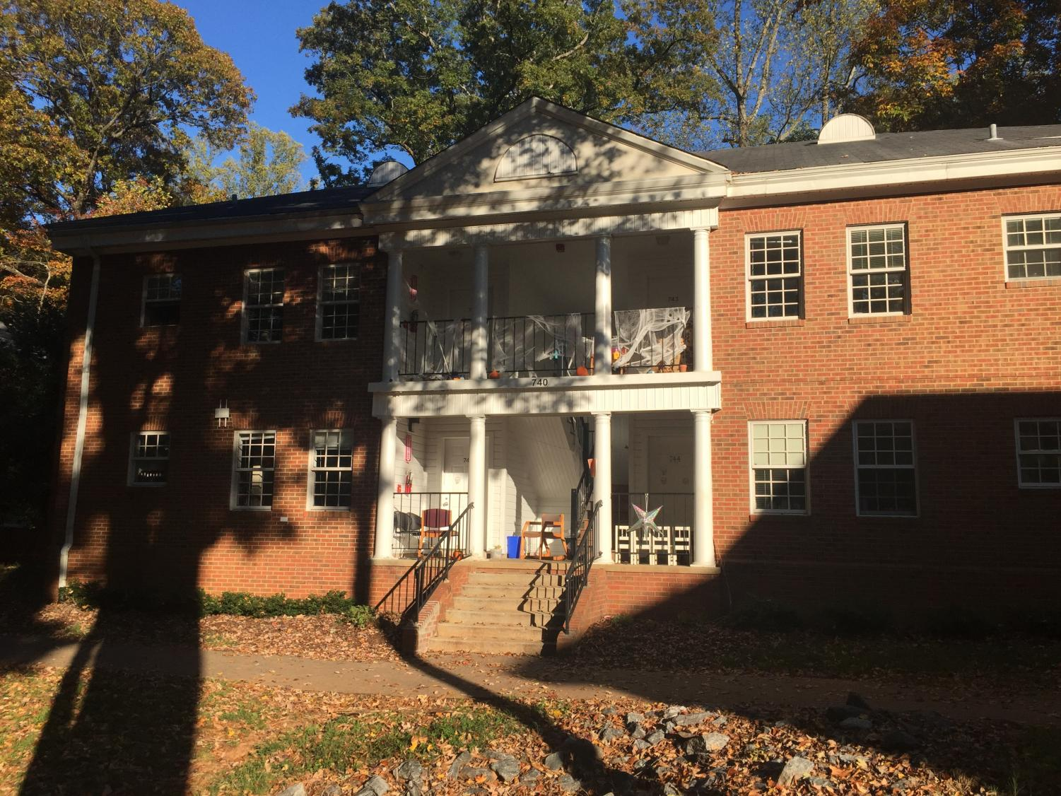 The co-op in the North Apartments were going to hold a Halloween party before being issued a Cease and Desist notice.
