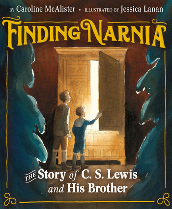 Cover+of+%E2%80%9CFinding+Narnia%E2%80%9D+showcases+the+two+brothers%2C+Jack+and+Warnie%2C+from+the+Chronicles+of+Narnia.