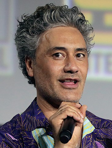 Taika Waititi, the director who impersonated Hitler.