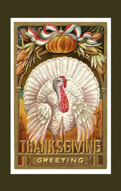 Thanksgiving greeting, hopefully the inspiration for a great movie.
