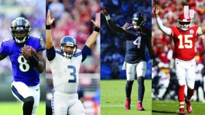 Many black quarterbacks seize success in 2019