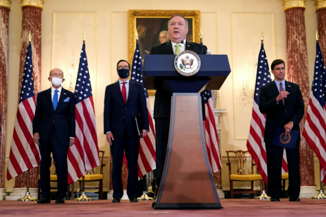 US Secretary of State, Mike Pompeo, is heavily involved in negotiations with the Sudanese government.