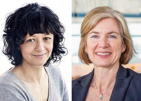 Emmanuelle Charpentier and Jennifer A. Doudna
