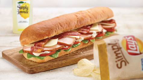 Subway bread-- if you can call it that