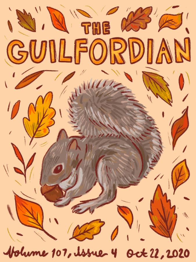 The Guilfordian Cover Issue 4 2020