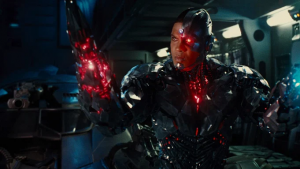 Ray Fisher as Cyborg in Warner Bros. film,